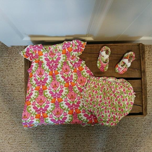 2070d1b62 Vera Bradley Matching Sets   Dress Bloomer Shoe Set   Poshmark